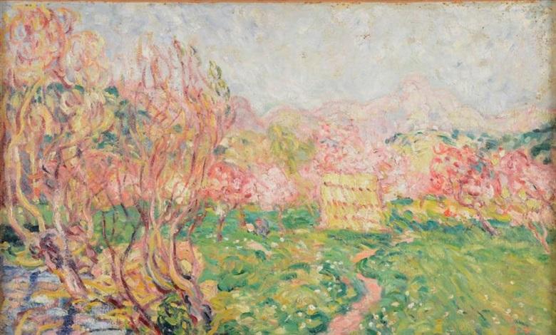 arbres en fleurs cagnes by louis valtat