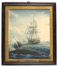 whaling in the davis straits by janet wadell