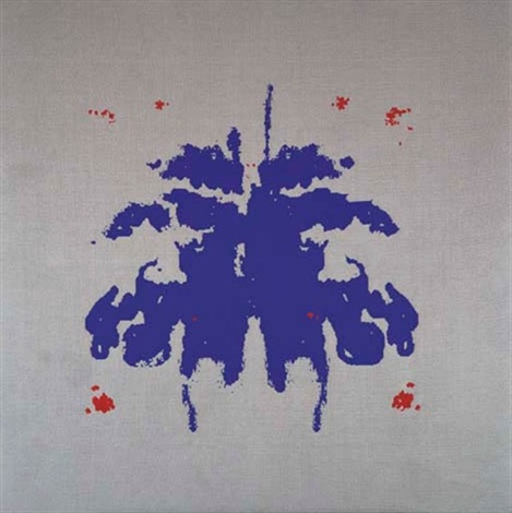 untitled rorschach test by rosemarie trockel