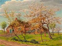 landscape spring (drenthe) by henk melgers