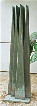 bronze tower by arthur silverman