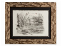 lithograph from 'album st. gallen' by antoni tàpies