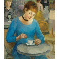 tea time by madeleine avril