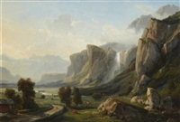 paysage by jean charles joseph remond