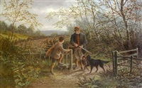 at the old covert: pheasant shooting by albert dunnington