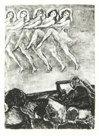 d'après paris (bk by leon paul fargue w/15 works, title, text & justif.) by jean louis boussingault