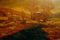 landscape by ohannès alhazian
