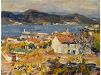 sunny morning, st. tropez by e.charlton fortune