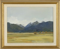 view of the rockies in montana by anne packard
