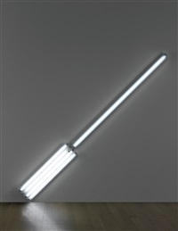 alternate diagonals of march 2 (to don judd) by dan flavin