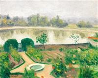le jardin du manoir, ousson, loire by albert marquet