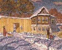 soleil d'hiver by vladimir bobrov