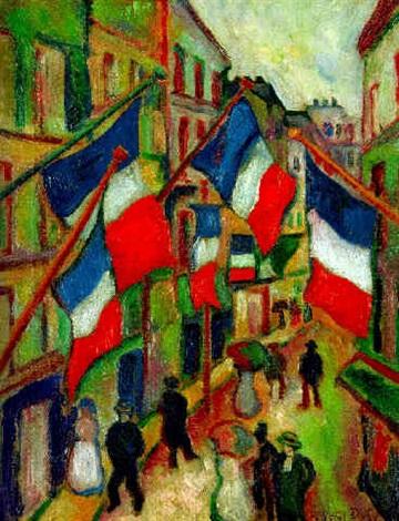Le 14 Juillet Au Havre By Raoul Dufy On Artnet