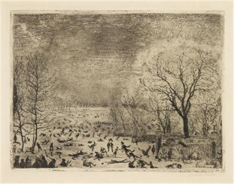 les patineurs by james ensor