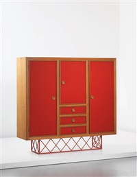 wardrobe (from villa matapao, croissy sur seine) by jean royère