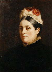 portrait of eliza horne by garden grant smith