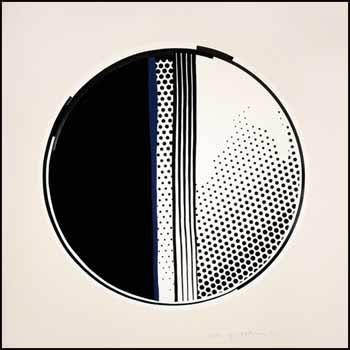 mirror #1 (4 works) by roy lichtenstein
