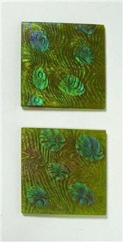tiles (2 works) by johann loetz