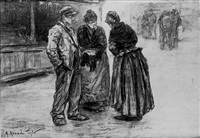discussion dans la rue by achille granchi-taylor