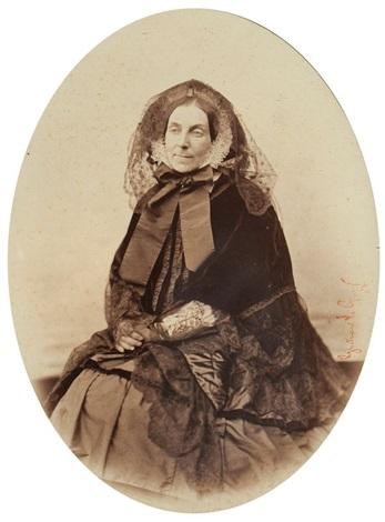 la baronne de chanrisay née de chauvenon de bigney by gustave le gray
