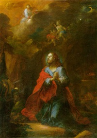 christus am ölberg by franz karl stauder