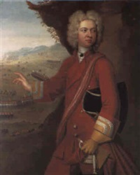 portrait of charles, 8th baron cathcart by william aikman