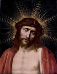 visage du christ en gloire by marten pepyn
