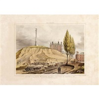 old boston, beacon hill from various viewpoints (5 works after john rueben smith, various sizes) by john henry bufford