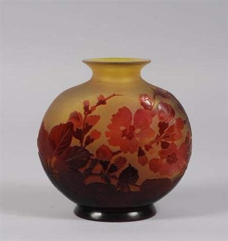 vase boule by émile gallé