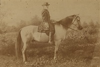 gen. robert e. lee on his horse, traveller by michael miley