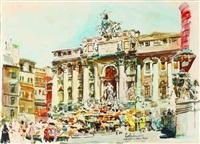 fontana di trevi - roma by lola frexas