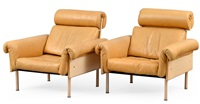 easy chairs (pair) by yrjö kukkapuro