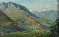 paese di montagna by antonio piatti
