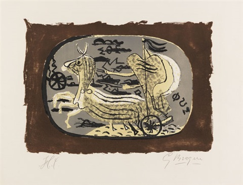phaeton (char i) by georges braque