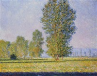 prairie de limetz by claude monet