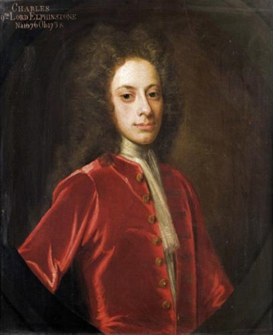 portrait of charles 9th lord elphinstone by william aikman