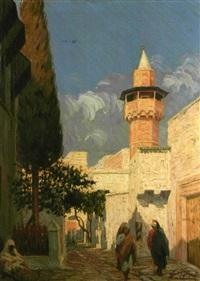 la mosquée de tunis sidi benziad by vito stacquadaini
