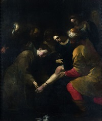 le miracle de saint antoine de padoue by orazio ferraro