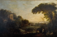 paysage animé by agostino aglio