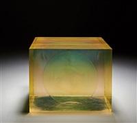 green sphere (box) by peter alexander