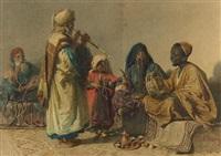 the rehearsal, cairo by carl haag