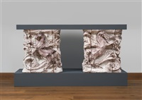 caminetto by lucio fontana