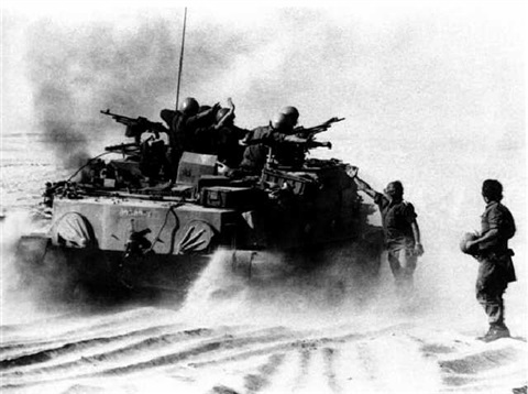 amphibious tank on its way to the suez canal during the yom kippour war oct 1973 by shlomo arad