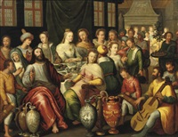 the marriage at cana by hieronymus francken the younger