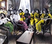 seven women (tres marias series) by federico aguilar alcuaz