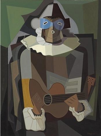 el cantor by emilio pettoruti