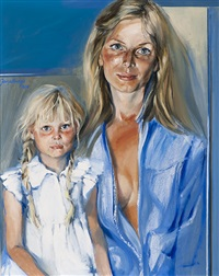 mother and daughter by jan asselbergs