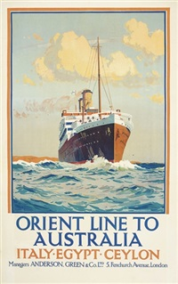 orient line to australia by herbert kerr rooke