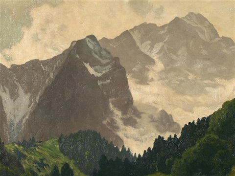 green mountians by heinrich harder