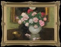 roses in a vase by alfons karpinski
